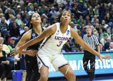 NCAA Women's Basketball 1st Round - UConn 140 vs. St Francis 52 (45)