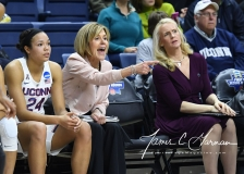 NCAA Women's Basketball 1st Round - UConn 140 vs. St Francis 52 (46)