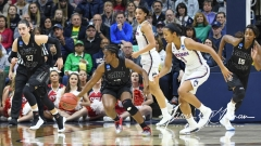 NCAA Women's Basketball 1st Round - UConn 140 vs. St Francis 52 (48)