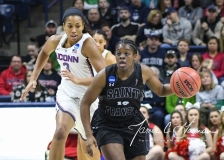 NCAA Women's Basketball 1st Round - UConn 140 vs. St Francis 52 (49)