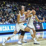 NCAA Women's Basketball 1st Round - UConn 140 vs. St Francis 52 (64)