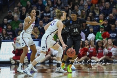 NCAA Women's Basketball 1st Round - UConn 140 vs. St Francis 52 (66)