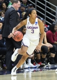 NCAA Women's Basketball 1st Round - UConn 140 vs. St Francis 52 (69)