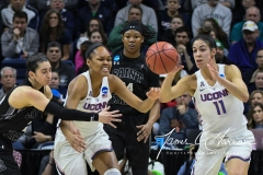 NCAA Women's Basketball 1st Round - UConn 140 vs. St Francis 52 (70)