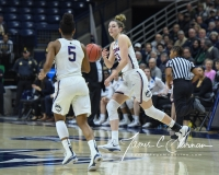 NCAA Women's Basketball 1st Round - UConn 140 vs. St Francis 52 (83)