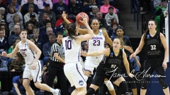 NCAA Women's Basketball 1st Round - UConn 140 vs. St Francis 52 (94)