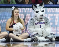 NCAA Women's Basketball 1st Round - UConn 140 vs. St Francis 52 (97)
