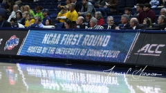 NCAA Women's Basketball 1st Round - #8 Miami 72 vs. #9 Quinnipiac 86 (1)