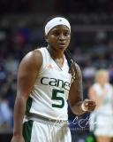 NCAA Women's Basketball 1st Round - #8 Miami 72 vs. #9 Quinnipiac 86 (10)