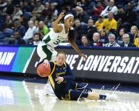 NCAA Women's Basketball 1st Round - #8 Miami 72 vs. #9 Quinnipiac 86 (14)