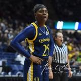 NCAA Women's Basketball 1st Round - #8 Miami 72 vs. #9 Quinnipiac 86 (15)