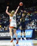NCAA Women's Basketball 1st Round - #8 Miami 72 vs. #9 Quinnipiac 86 (16)
