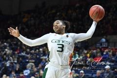 NCAA Women's Basketball 1st Round - #8 Miami 72 vs. #9 Quinnipiac 86 (20)