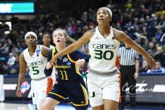 NCAA Women's Basketball 1st Round - #8 Miami 72 vs. #9 Quinnipiac 86 (25)