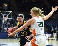 NCAA Women's Basketball 1st Round - #8 Miami 72 vs. #9 Quinnipiac 86 (26)