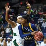 NCAA Women's Basketball 1st Round - #8 Miami 72 vs. #9 Quinnipiac 86 (32)