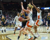 NCAA Women's Basketball 1st Round - #8 Miami 72 vs. #9 Quinnipiac 86 (34)