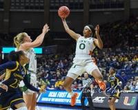 NCAA Women's Basketball 1st Round - #8 Miami 72 vs. #9 Quinnipiac 86 (35)