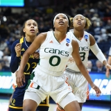 NCAA Women's Basketball 1st Round - #8 Miami 72 vs. #9 Quinnipiac 86 (40)