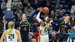 NCAA Women's Basketball 1st Round - #8 Miami 72 vs. #9 Quinnipiac 86 (42)