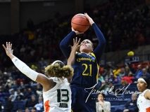 NCAA Women's Basketball 1st Round - #8 Miami 72 vs. #9 Quinnipiac 86 (43)