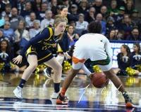 NCAA Women's Basketball 1st Round - #8 Miami 72 vs. #9 Quinnipiac 86 (46)