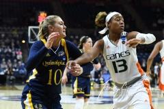 NCAA Women's Basketball 1st Round - #8 Miami 72 vs. #9 Quinnipiac 86 (47)
