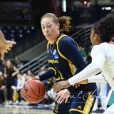 NCAA Women's Basketball 1st Round - #8 Miami 72 vs. #9 Quinnipiac 86 (48)