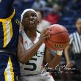NCAA Women's Basketball 1st Round - #8 Miami 72 vs. #9 Quinnipiac 86 (64)