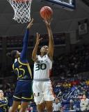 NCAA Women's Basketball 1st Round - #8 Miami 72 vs. #9 Quinnipiac 86 (66)