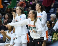 NCAA Women's Basketball 1st Round - #8 Miami 72 vs. #9 Quinnipiac 86 (67)