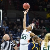 NCAA Women's Basketball 1st Round - #8 Miami 72 vs. #9 Quinnipiac 86 (7)