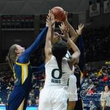 NCAA Women's Basketball 1st Round - #8 Miami 72 vs. #9 Quinnipiac 86 (71)