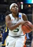 NCAA Women's Basketball 1st Round - #8 Miami 72 vs. #9 Quinnipiac 86 (72)