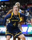 NCAA Women's Basketball 1st Round - #8 Miami 72 vs. #9 Quinnipiac 86 (74)