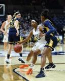 NCAA Women's Basketball 1st Round - #8 Miami 72 vs. #9 Quinnipiac 86 (75)