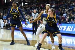NCAA Women's Basketball 1st Round - #8 Miami 72 vs. #9 Quinnipiac 86 (79)