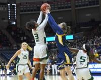 NCAA Women's Basketball 1st Round - #8 Miami 72 vs. #9 Quinnipiac 86 (8)