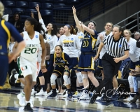 NCAA Women's Basketball 1st Round - #8 Miami 72 vs. #9 Quinnipiac 86 (82)