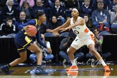 NCAA Women's Basketball 1st Round - #8 Miami 72 vs. #9 Quinnipiac 86 (84)