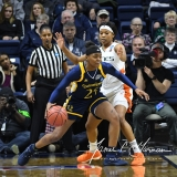 NCAA Women's Basketball 1st Round - #8 Miami 72 vs. #9 Quinnipiac 86 (85)