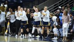 NCAA Women's Basketball 1st Round - #8 Miami 72 vs. #9 Quinnipiac 86 (87)