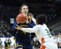 NCAA Women's Basketball 1st Round - #8 Miami 72 vs. #9 Quinnipiac 86 (9)