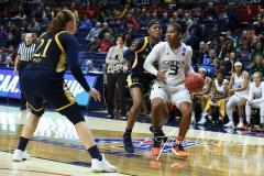 NCAA Women's Basketball 1st Round - #8 Miami 72 vs. #9 Quinnipiac 86 (93)