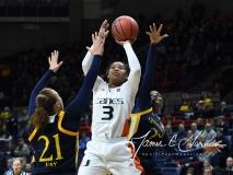 NCAA Women's Basketball 1st Round - #8 Miami 72 vs. #9 Quinnipiac 86 (94)