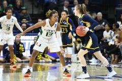 NCAA Women's Basketball 1st Round - #8 Miami 72 vs. #9 Quinnipiac 86 (99)