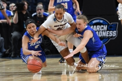 NCAA Women's Basketball Sweet Sixteen - #2 South Carolina 79 vs #11 Buffalo 63 (44)
