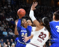 NCAA Women's Basketball Sweet Sixteen - #2 South Carolina 79 vs #11 Buffalo 63 (48)