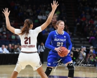 NCAA Women's Basketball Sweet Sixteen - #2 South Carolina 79 vs #11 Buffalo 63 (52)