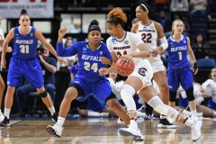 NCAA Women's Basketball Sweet Sixteen - #2 South Carolina 79 vs #11 Buffalo 63 (60)